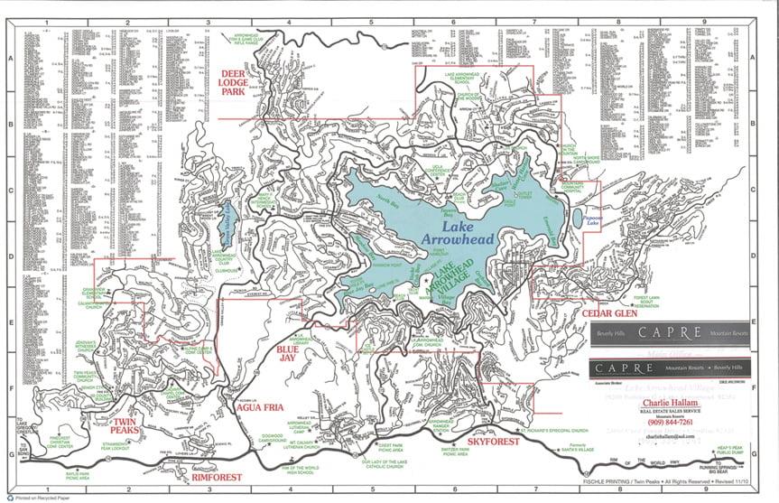 Arrowhead Villas Lake Arrowhead Ca